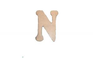 Litera N Mdf 120x100x3 mm