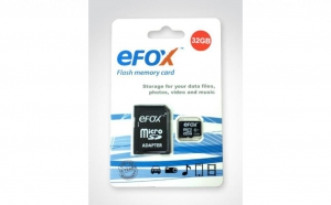 Card memorie EFOX card 32GB class 10 , la doar 68 RON in loc de 140 RON