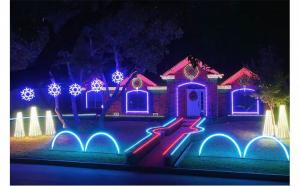 Furtun luminos LED 10 m