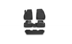 Set Covorase Tavita Negre Opel Zafira 2012-> 5 Locuri Novline NVFOPBL5026