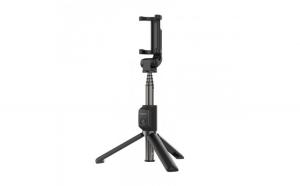 Selfie Stick, Trepied Huawei AF15, Bluetooth, Extensibil, Negru