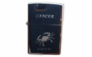 Bricheta metalica gravata zodie Rac. Cancer zodiac + cadou