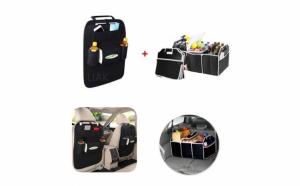 Organizator scaun auto + organizator portbagaj