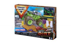 Monster jam set camioneta cu nisip si