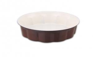 Tava pentru copt SAPIR SP-1223-NC, Otel carbon cu strat ceramic, la 19 RON in loc de 39 RON