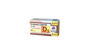 Tablete Vitamina D3 2200NE Jutavit, 40