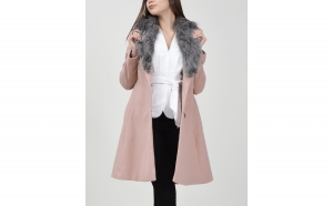 Palton dama, roz