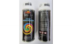 Spray vopsea Profesional CHAMPION RAL 9010 ALB 10 MAT 400ml