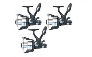 Set 3 Mulinetae Scorpion J3 5000 FR cu baitrunner pentru pescuit stationar