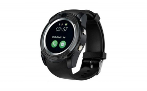 Smartwatch Usmart V8, cartela SIM, camera