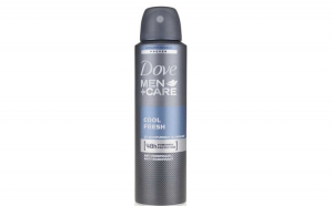 Deodorant antiperspirant spray Dove MEN +CARE, Cool Fresh, 150 ml