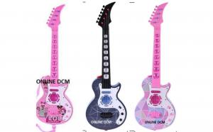 Chitara electrica cu 4 corzi pentru fete si baieti