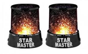 Spectacol de lumini: Set 2 lampi Star Master, la doar 39 RON in loc de 99 RON!