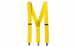 Bretele Suspenders galben,VIVO