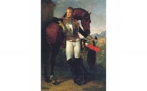 Tablou Canvas Portrait Antoine-Jean Gros, 50 x 70 cm, 100% Bumbac