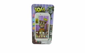 Telefon mobil Talking Tom muzical - alb