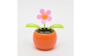 Decoratie solara - model floare -