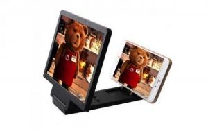 Ecran-lupa cu suport pentru marirea imaginii de pe telefonul mobil