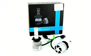 Set Bec H7 LED S2 Korea 4800 lumeni 6000k