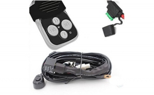 Sistem telecomanda si cablaj pentru proiectoare LED