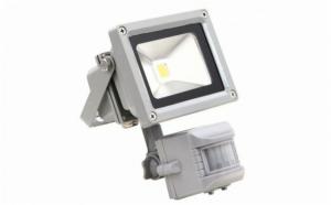 Proiector LED, 30W, cu senzor de miscare, pentru uz exterior