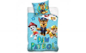 Set lenjerie pat copii Paw Patrol Chase