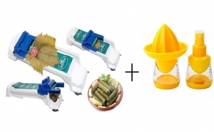 Aparat sarmale + Pulverizator cu storcator pentru citrice