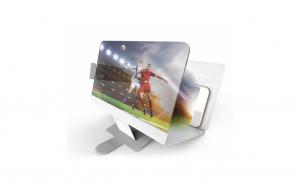 Ecran 10 x lupa - Amplificator de imagine 3D pentru telefon + Boxa portabila KTS-502