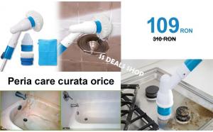 Perie electrica pentru curatat baia si bucataria