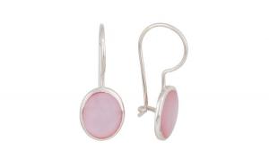 Cercei argint 925 Pink Sidef