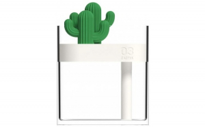 Umidificator Techstar®  Purificator aer  160ml    Cactus  Iluminare LED