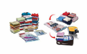 Set 10 saci pentru vidat haine