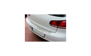 Ornament protectie bara din inox calitate premium Vw Golf 6 Hatchback 2008-2012