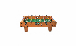 Masa de fotbal, joc de masa, din lemn cu 18 jucatori