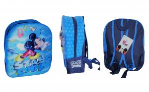 Ghiozdan 3D cu Mickey, albastru