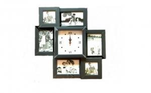 Ceas  de perete cu rame foto, la doar 126 RON in loc de 253 RON