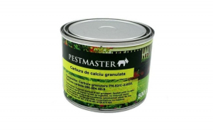 Pachet anti cartita compus din solutie 50ml, fumigena si pelete Carbid granulat Pestmaster