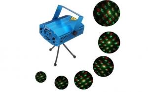 Mini proiector laser PREMIUM cu 5 forme