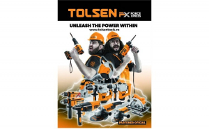 Banner Tolsen FX Force Xpress 84 x 119 cm