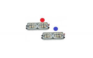 Set stroboscoape LED cu doua jocuri de