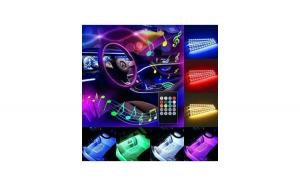 LED interior 7 culori 12smd RGB cu