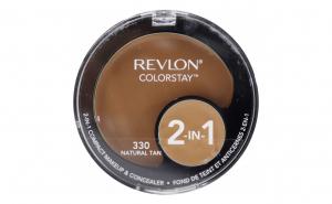 Fond de ten compact si corector Revlon Colorstay 2in1 330 Natural Tan