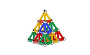 Set de constructie magnetic 3D,  50