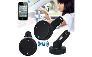 Car kit auto bluetooth, dual USB cu functie modulator fm la numai 59 RON redus de la 149 RON