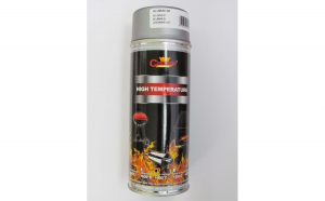 Spray vopsea Profesional Rezistent Termic ARGINTIU +800°C 400ml