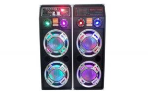 Set 2 Boxe audio cu statie, Bluetooth / USB/SD, 2 x 300 W, FM