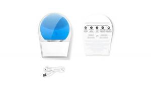 Dispozitiv pentru ingrijire Reflection Vision, 8000 oscilatii /min, curatare faciala FOREVER ,Impermeabil, Albastru