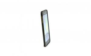 Bumper aluminiu Iphone 6/6S,Negru+Gold