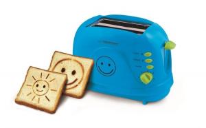 Prajitor de paine cu imprimare desene Smiley,  3 functii