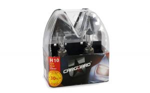 CARGUARD - Set de 2 becuri halogen H10 +30% intensitate GLZ-BHA006